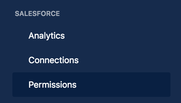 Configuring Permissions - Salesforce & Confluence Cloud Connector