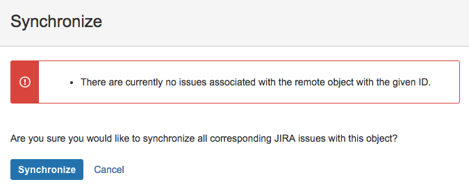 Synchronizing Salesforce data with Jira - Classic Connector
