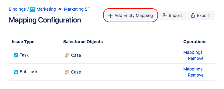 Configuring Eny Mappings and Field Mappings - Connector ... on training mapping, informatica mapping, twitter mapping,