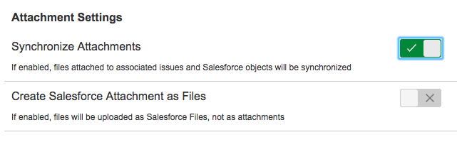 Working with attachments - Connector for Salesforce & Jira